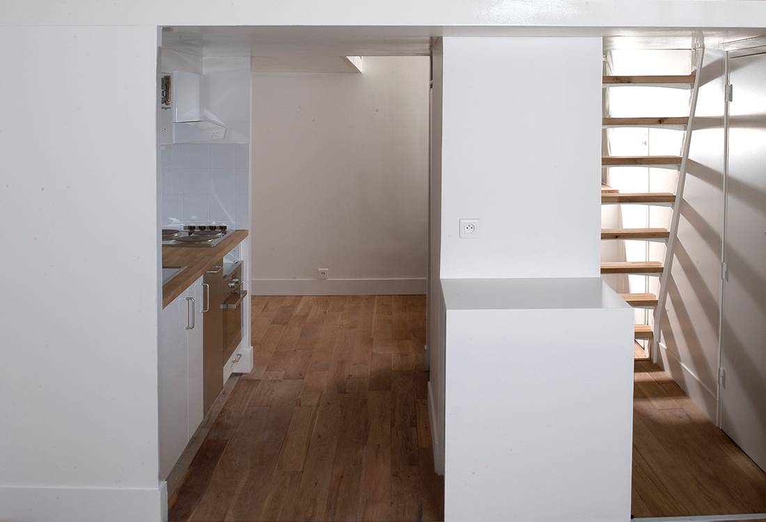 Appartement isa paris nea architects agence d for Agence logement