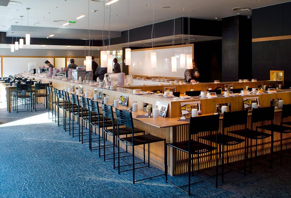 Restaurant Japonais Confederation Centre Geneve